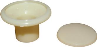 Věšák madla sloupku/slonová kost - Typ 2 (1963 » 79)