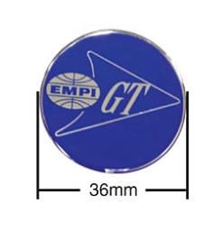 Samolepky modré/Empi GT/krytky kol/36mm - Typ (univerzál)