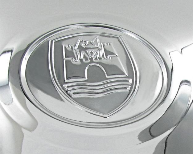 Poklice kola chrom/logo Wolfsburg - Typ 1/2/14/181 (1965 »)