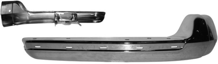 Nárazník přední/chrom/boční P - Typ 2 (1967 » 72)