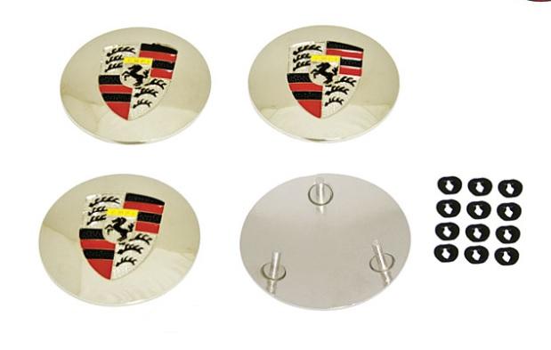 Krytky poklice kola - Typ 1/3/14/Porsche 356 (logo Stuttgard/Porsche)