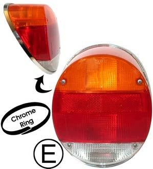 Světlo zadní OE/chrom rámeček L/P - Typ 1/181 US (1972 » 03)