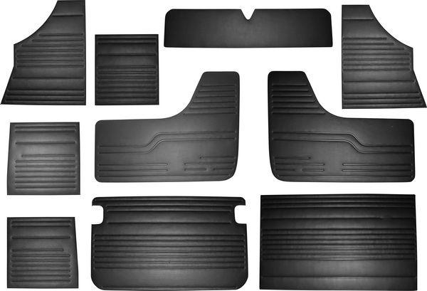 Panely interiéru/černý vinyl - Typ 2 (1967 » 79)