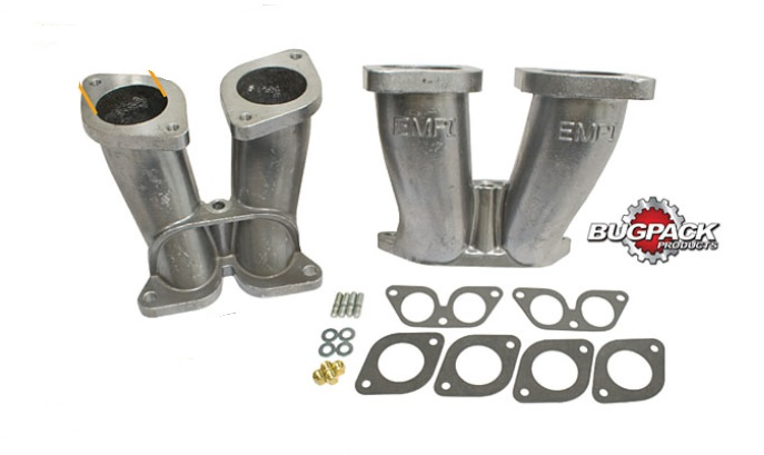 Potrubí sání/dual 40 IDF/HMPX - Porsche 356/912 (vše)