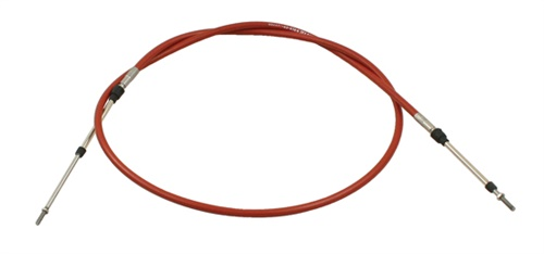 Kabel+lanko plynu/254mm (#16-2084#16-2087)