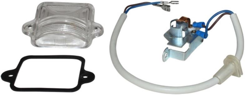Sklo osvětlení SPZ/kit - Typ 1/3 (1963 » 03)