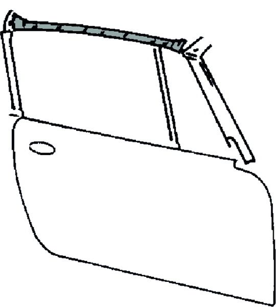 Těsnění střechy/boční P - Porsche 911 Targa (1964 » 69)