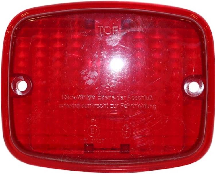 Sklo červené/mlhové světlo - Porsche 911 (1968 » 86)