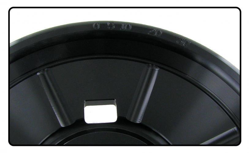 Řemenice klikové hřídele Alu/Std - Typ 1 motor (1.5-1.6)
