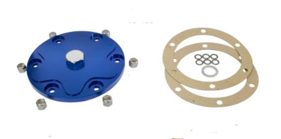 Víko motoru/modré Alu/výpust oleje - Typ 1/3/CT/CZ motory (1960 »)