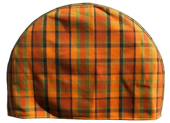 Kryt rezervního kola oranžový/zelená/červená kostka - Typ 2 Westfalia (1967 » 79)