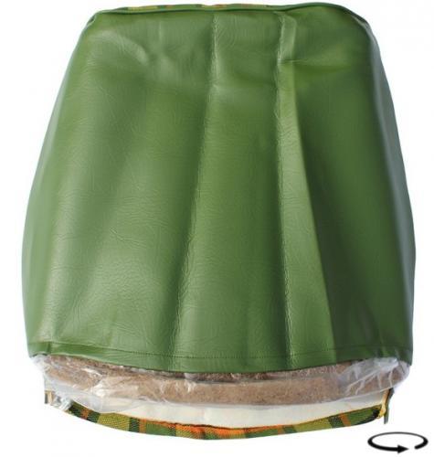 Potah sedadla žlutý/zelená/červená kostka - Typ 2 Westfalia (1974 » 79)