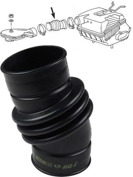 Potrubí sání horní/filtr vzduchu - Typ 25 WBX motor (1982 » 92)