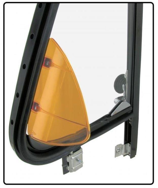 Nástavce žluté/křídla ventilace - Typ 1/2/3/25 (» 2003)