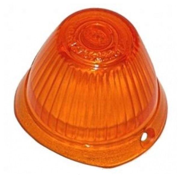 Sklo směrového světla oranž./OE přední - Typ 2/14 (» 1963)