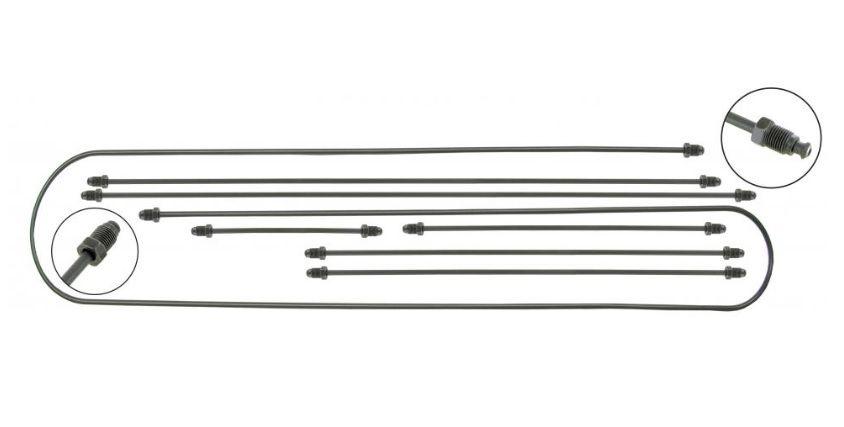 Trubky brzd 2-okruh/kit - Typ 3 (IRS náprava)