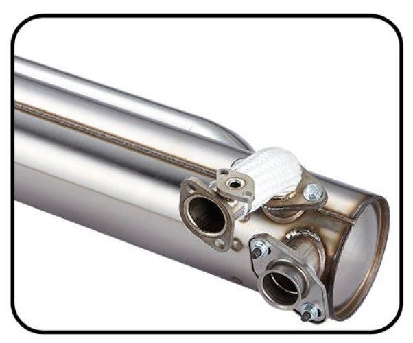 Potrubí výfuku S/S - Typ 2 (#23242)