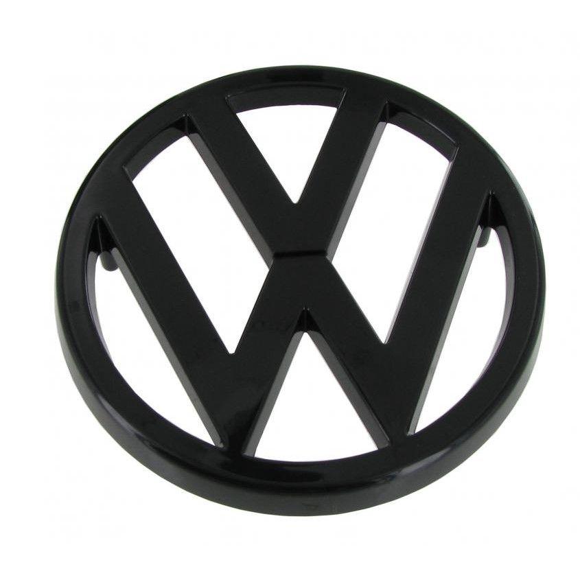 Znak VW přední/černý - Typ 25 (1979 » 87)