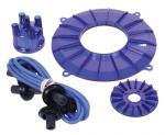 Kabely zapalovací wo kit/modré - Typ 1 motor (» 1992)