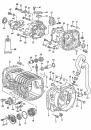 Manžeta řazení/převodovka -Typ 25/Golf/Jetta (1974 » 92)