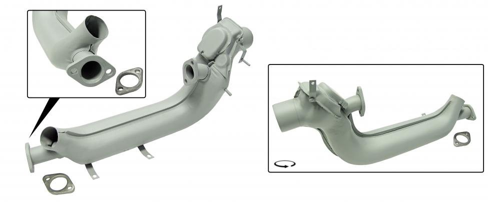 Výměník tepla SM/L - Typ 1 motor (1963 »)