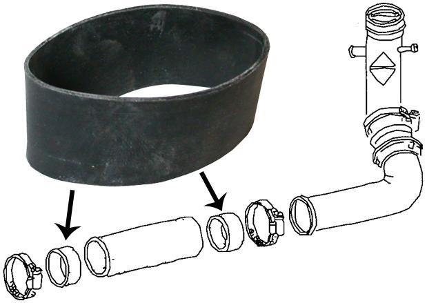 Objímky těsnící/hrdlo nádrže paliva - Typ 1/3/14/181 (1967 »)