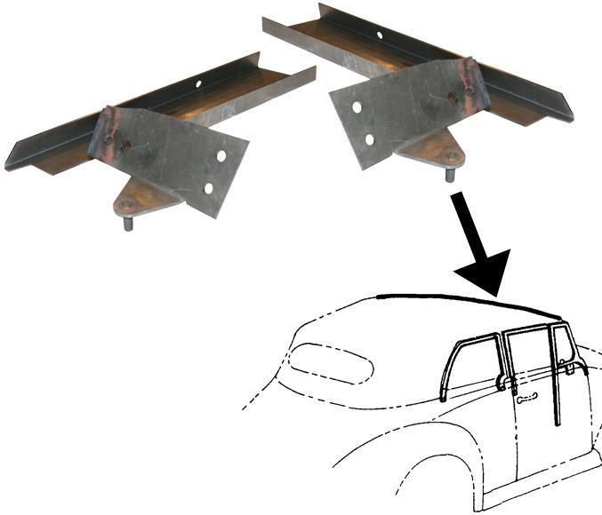 Mechanismus rámu střechy/kit - T.1 Cabrio (1967 » 72)