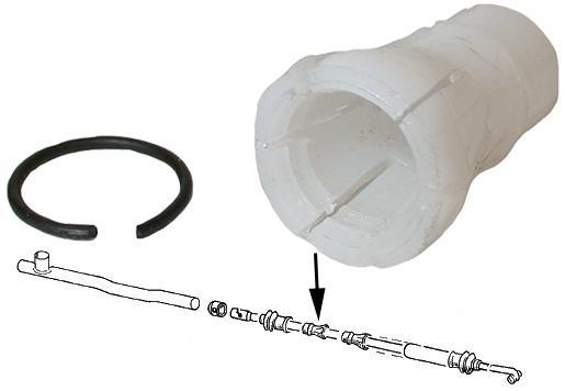 Pouzdro tyče řazení/středové/zadní - Typ 2 (1967 » 79)