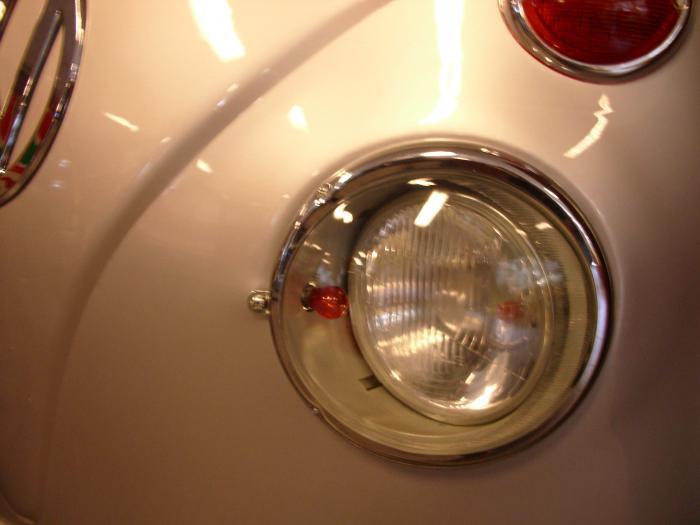 Světlomet US/čiré sklo L/P - Typ 1/2/Porsche 356 (» 1967)