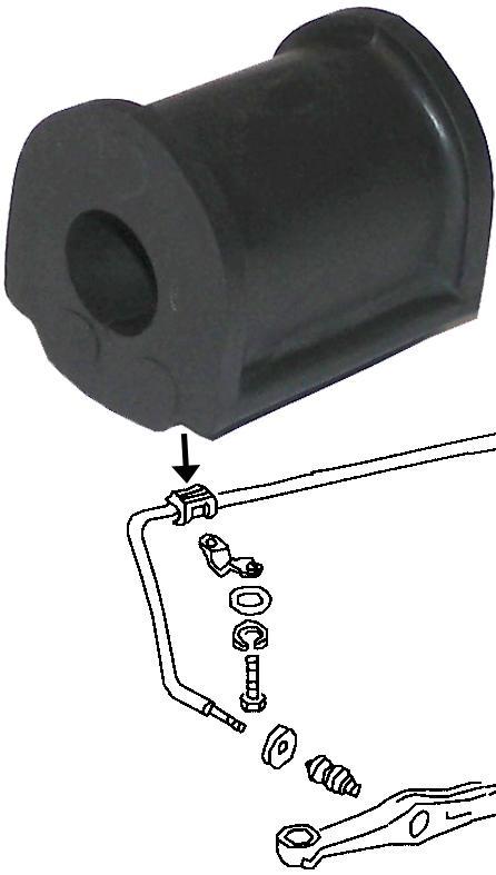 Pouzdro stabilizátoru L/P - T.1 1302/03 (1970 » 80)