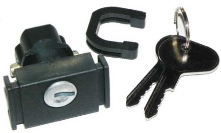 Zámek víka přihrádky/klíč - T.1 1303/25/LT/Golf (1972 » 92)