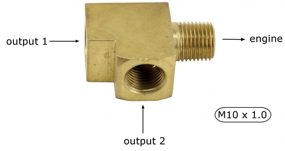 Adaptér čidla oleje/2 pins - Typ (universál)
