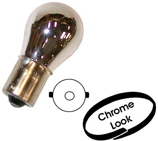 Žárovky 12V/5W chrom/oranžové světlo