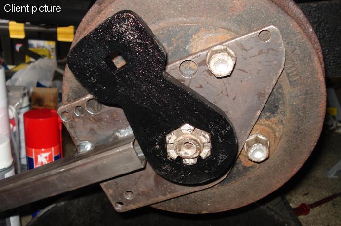 Klíč matice 36mm/zadní poloosy - Typ 1/2/3/14/181 (» 2003)