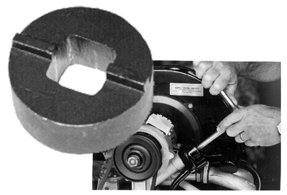 Klíč matice/nalévání oleje - Typ 1 motor (1965 »)