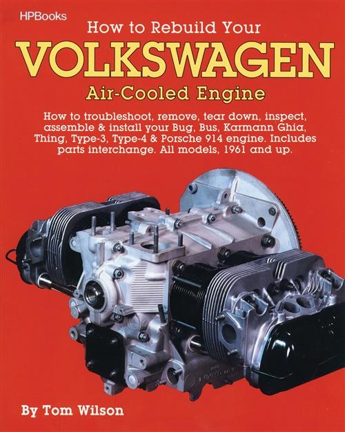 Kniha Jak na to... VW motory (manuál)