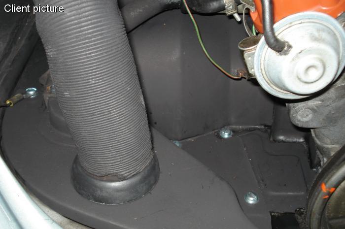 Šrouby montážní zinek/krycí plechy motoru - Typ (» 2003)