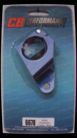 Objímka rozdělovače Alu/modrá - Typ 1/3/WBX motory (1960 » 03)