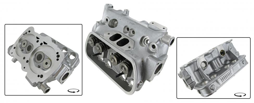 Hlava motoru komplet/dual - Typ 25 WBX motor (1.9)