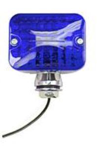 Světlo koncové poziční mini/modré/2-vlákna - Typ (univerzál)