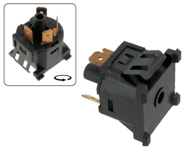 Přepínač ventilátoru/topení - Typ 25/Golf/Jetta (1976 » 92)