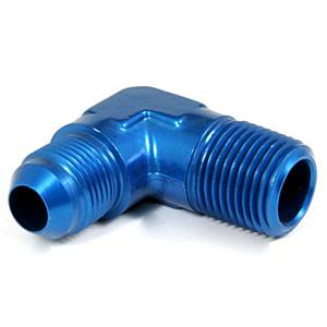 Adaptér Alu 19-21mm/90° (hadice oleje)