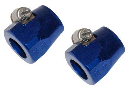 Objímky Alu 12-13mm/modré (hadice paliva)