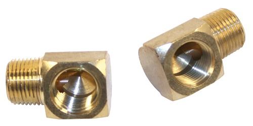 Fitinky/mosaz 17-17mm/90° (hadice oleje)