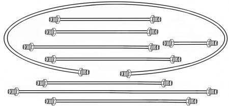 Trubky brzd/kit - Typ 2 (1956 » 63)