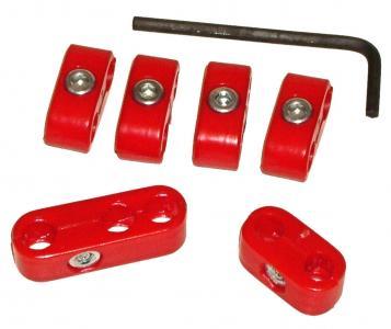 Držáky červené/zapalovací kabely - Typ (4-válec)