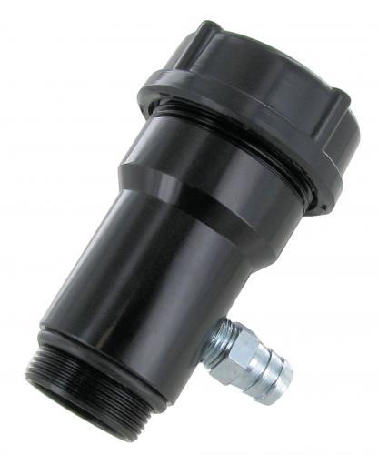 Hrdlo oleje/černé Alu - Typ 1 motor (1960 »)