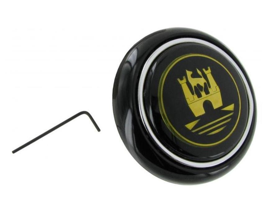 Tlačítko klaksonu/zlaté - Typ 1/2/14 (» 1959)