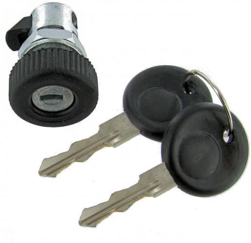 Zámek víka přihrádky OE/klíč - Typ 1/2/3/14/34 (1967 »)