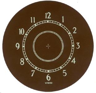 Samolepka/hodiny - Typ (» 1952)
